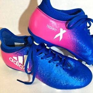 Adidas TechFit X Soccer Cleats - Youth - Size 2